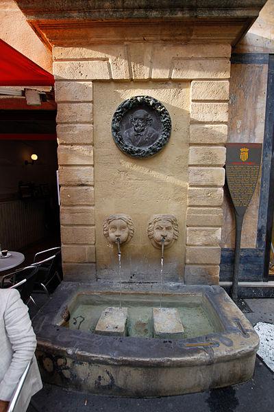 Photo du Monument Historique Fontaine des Bagniers situé à Aix-en-Provence