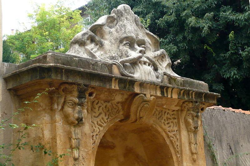 Photo du Monument Historique Fontaine situé à Aix-en-Provence