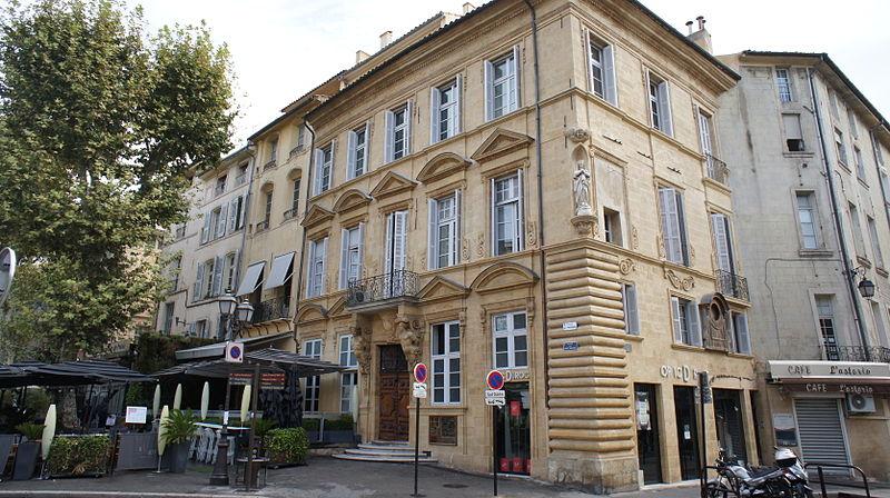 Photo du Monument Historique Hôtel d'Agut situé à Aix-en-Provence