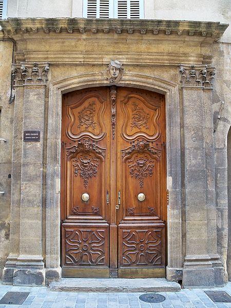 Photo du Monument Historique Hôtel d'Ailhaut situé à Aix-en-Provence