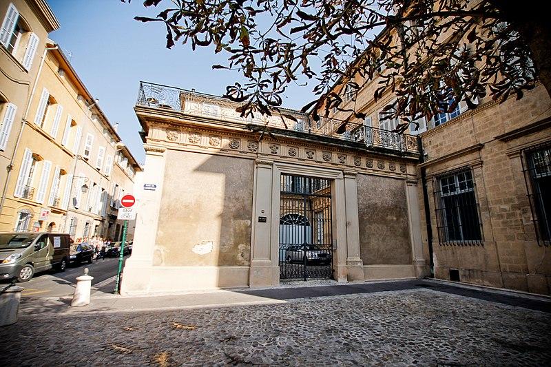Photo du Monument Historique Hôtel de Boisgelin situé à Aix-en-Provence