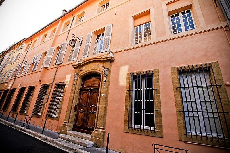 Photo du Monument Historique Hôtel Boyer de Bandol ou de Castillon situé à Aix-en-Provence