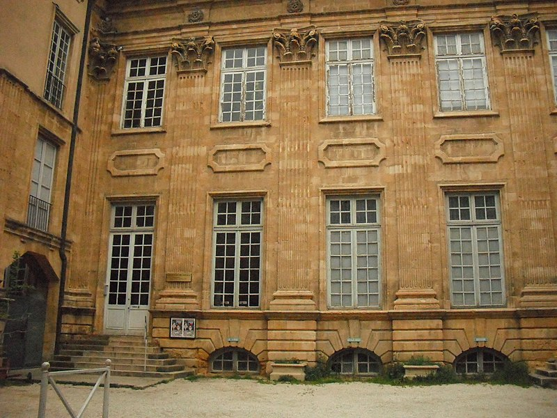 Photo du Monument Historique Hôtel Boyer d'Eguilles situé à Aix-en-Provence