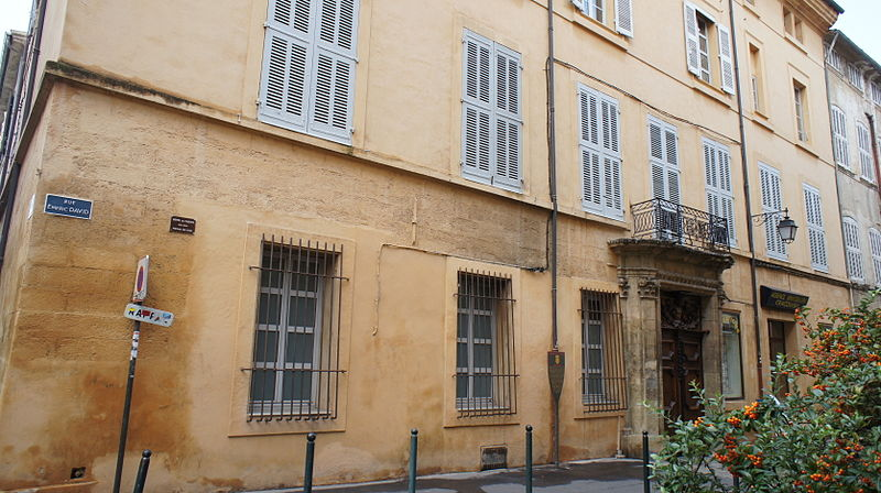 Photo du Monument Historique Hôtel de Carcès situé à Aix-en-Provence
