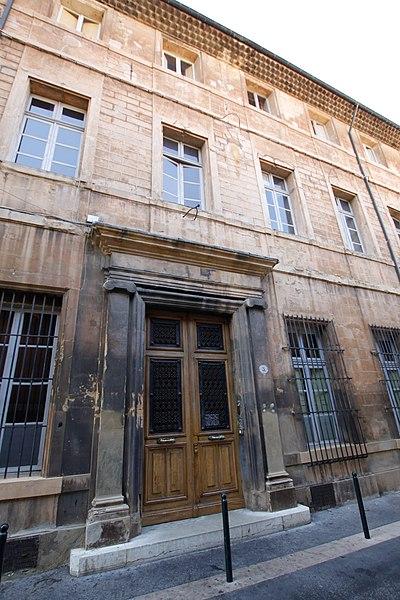 Photo du Monument Historique Hôtel des Cariolis situé à Aix-en-Provence