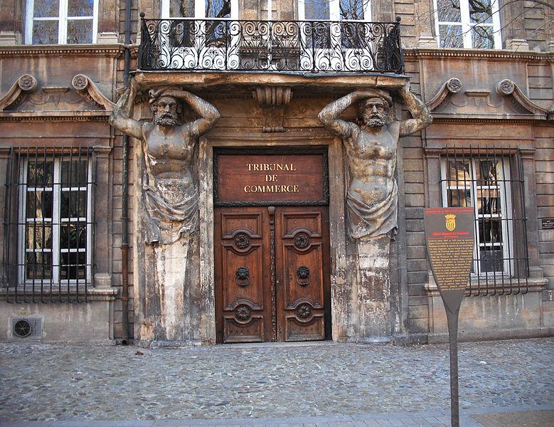 Photo du Monument Historique Hôtel d'Espagnet ou Maurel de Pontevès situé à Aix-en-Provence