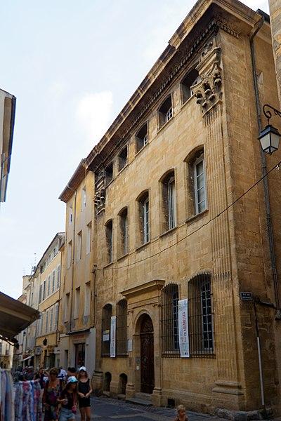 Photo du Monument Historique Hôtel d'Estienne de Saint-Jean, actuellement Musée du Vieil Aix situé à Aix-en-Provence
