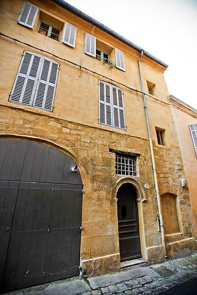 Photo du Monument Historique Hôtel de Fonvert situé à Aix-en-Provence