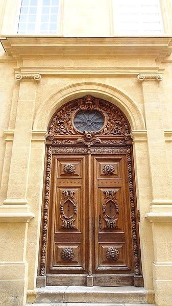 Photo du Monument Historique Hôtel de Grimaldi-Régusse situé à Aix-en-Provence