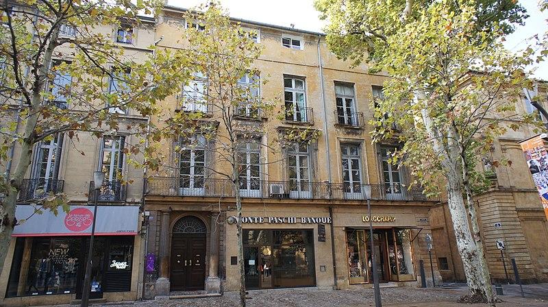 Photo du Monument Historique Hôtel de Gueydan situé à Aix-en-Provence