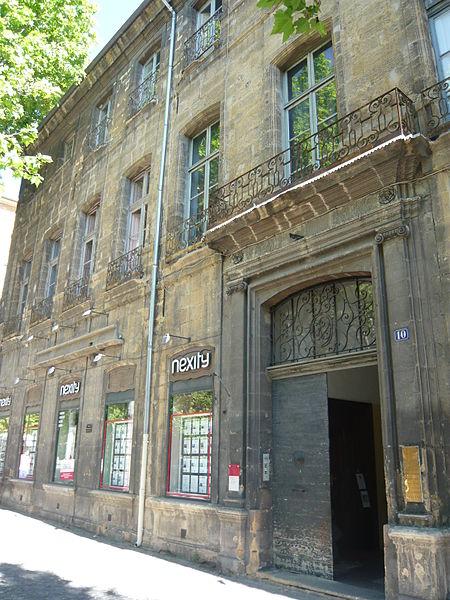 Photo du Monument Historique Hôtel Isoard de Vauvenargues dit aussi d'Entrecasteaux ou Boniface-Laidet situé à Aix-en-Provence