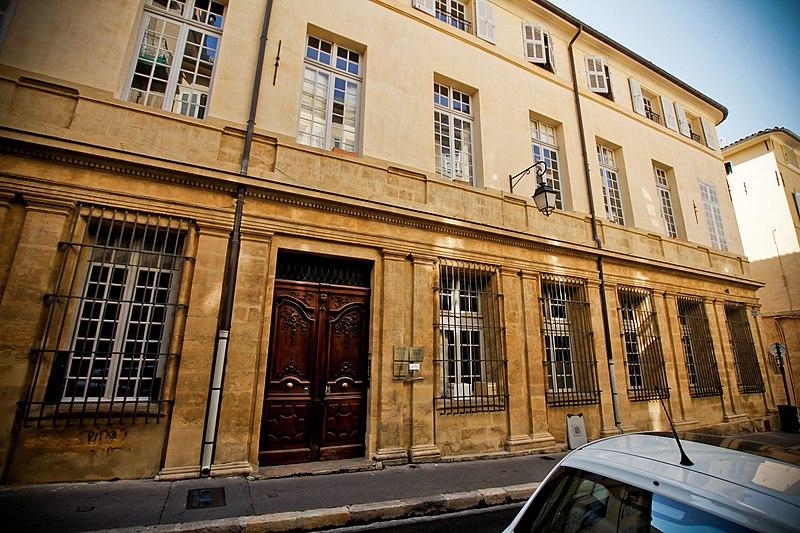 Photo du Monument Historique Hôtel de Joursenvault ou de Carondelet situé à Aix-en-Provence