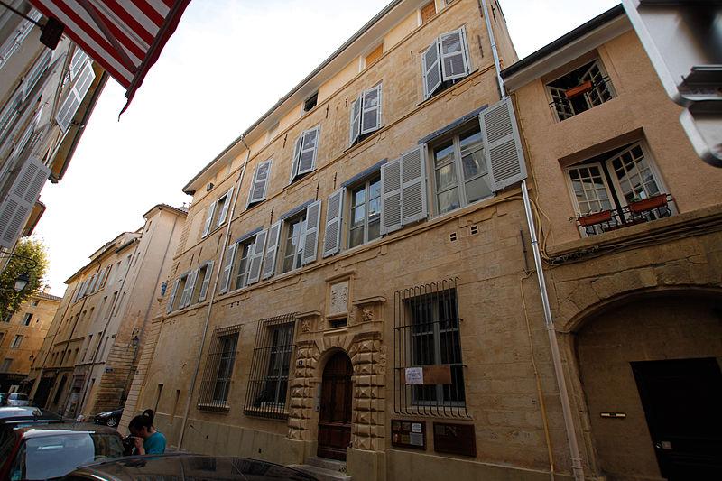 Photo du Monument Historique Hôtel de Lacépède situé à Aix-en-Provence