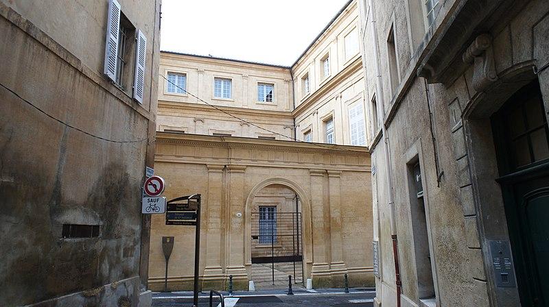 Photo du Monument Historique Hôtel d'Antoine ou de Lestang-Parade situé à Aix-en-Provence