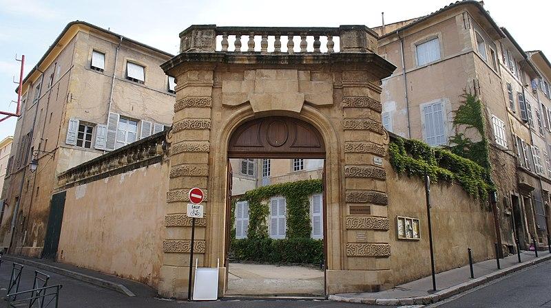 Photo du Monument Historique Hôtel de Maliverny situé à Aix-en-Provence