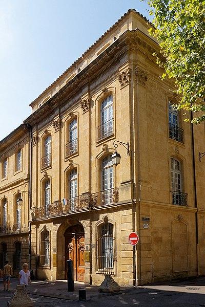 Photo du Monument Historique Ancien Hôtel Maynier d'Oppède ou Thomassin de Saint-Paul situé à Aix-en-Provence