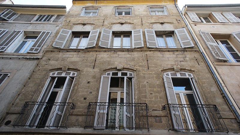 Photo du Monument Historique Hôtel Meynier de Lambert situé à Aix-en-Provence