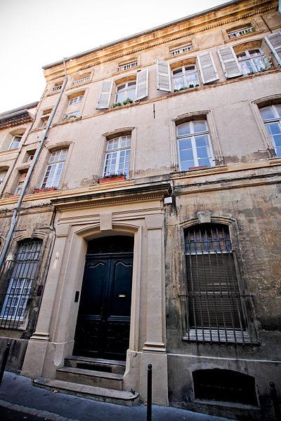 Photo du Monument Historique Hôtel d'Oléon-Boysseulh situé à Aix-en-Provence