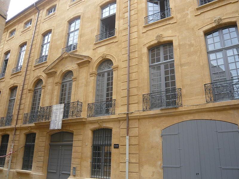 Photo du Monument Historique Hôtel d'Oraison situé à Aix-en-Provence