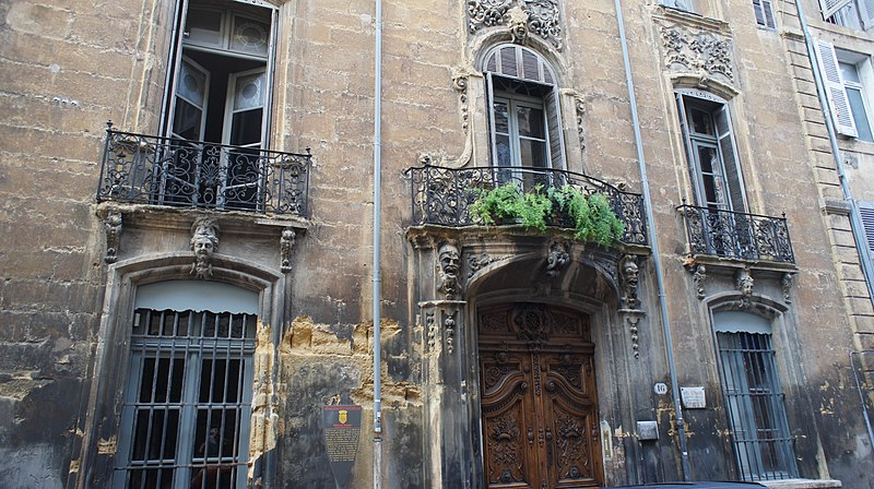 Photo du Monument Historique Hôtel de Panisse situé à Aix-en-Provence