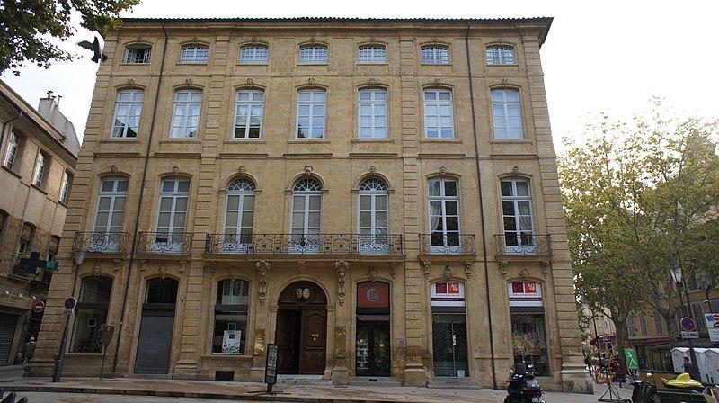 Photo du Monument Historique Hôtel du Poët situé à Aix-en-Provence