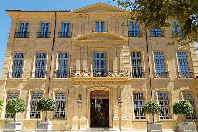 Photo du Monument Historique Hôtel de Réauville ou de la Tour d'Aigues ou de Caumont situé à Aix-en-Provence