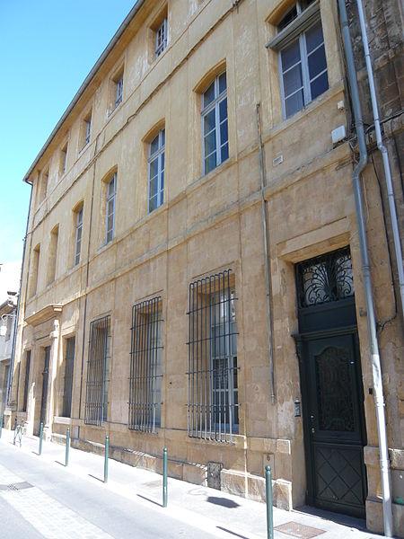 Photo du Monument Historique Hôtel de Reboul-Lambert dit aussi de Lagoy ou Vermond situé à Aix-en-Provence