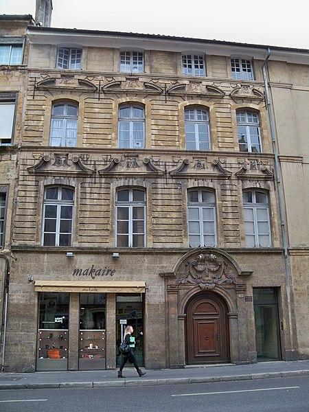 Photo du Monument Historique Hôtel de Roquesaule situé à Aix-en-Provence
