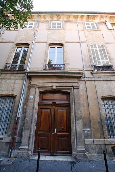 Photo du Monument Historique Hôtel de Simiane, dit aussi hôtel de Grignan-Simiane situé à Aix-en-Provence