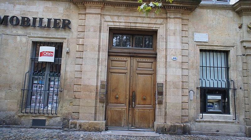 Photo du Monument Historique Hôtel de Suffren (ou de Forbin d'Oppède) situé à Aix-en-Provence
