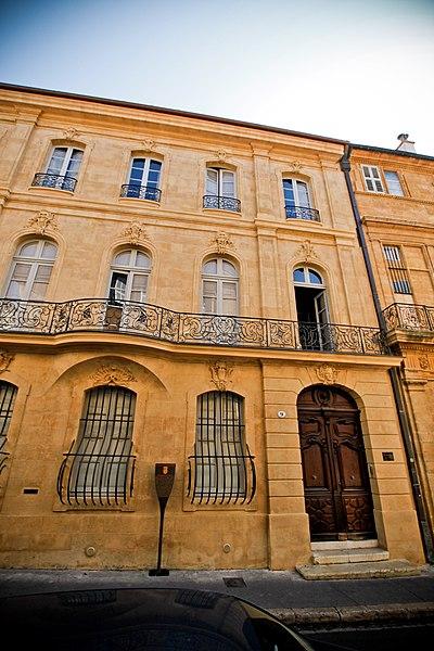 Photo du Monument Historique Hôtel Villeneuve d'Ansouis situé à Aix-en-Provence