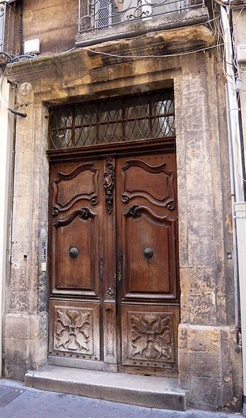 Photo du Monument Historique Hôtel situé à Aix-en-Provence