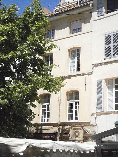 Photo du Monument Historique Immeuble situé à Aix-en-Provence