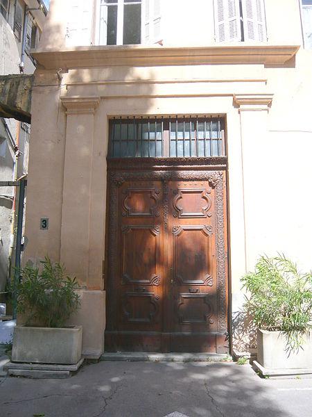 Photo du Monument Historique Maison situé à Aix-en-Provence