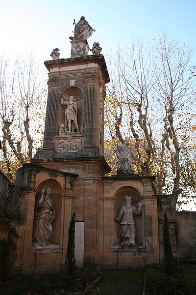 Photo du Monument Historique Monument de Joseph Sec situé à Aix-en-Provence