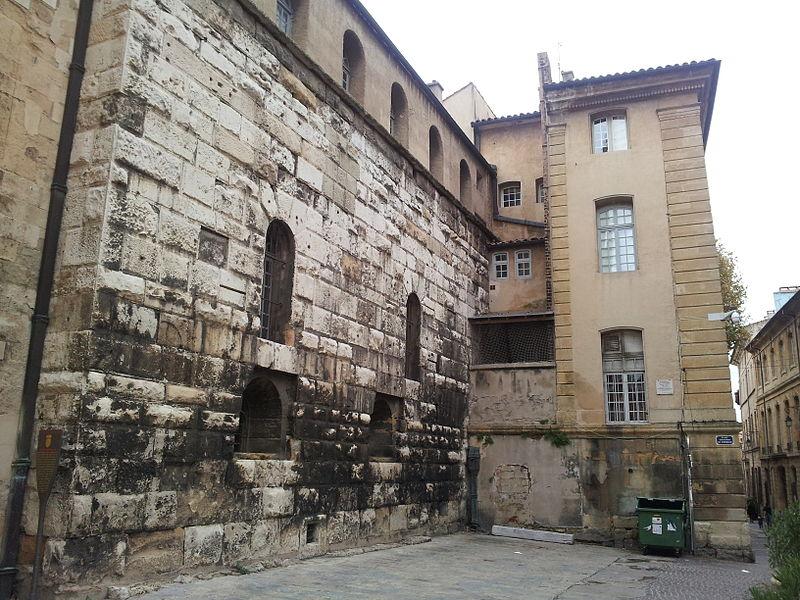 Photo du Monument Historique Mur romain situé à Aix-en-Provence