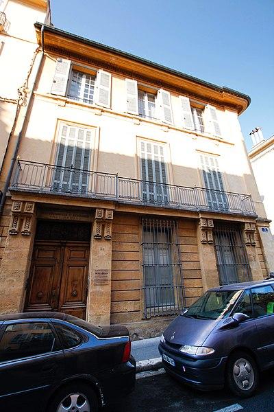 Photo du Monument Historique Hôtel Paul Arbaud situé à Aix-en-Provence