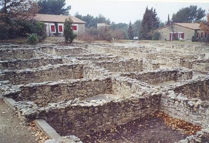 Photo du Monument Historique Vestiges de l'oppidum celto-ligure d'Entremont situé à Aix-en-Provence