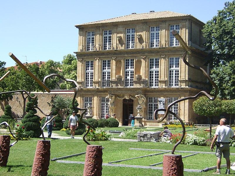 Photo du Monument Historique Pavillon de Vendôme (ou de la Molle) situé à Aix-en-Provence