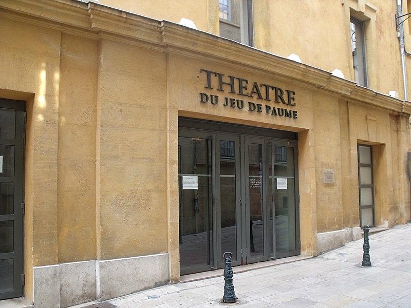 Photo du Monument Historique Théâtre municipal situé à Aix-en-Provence