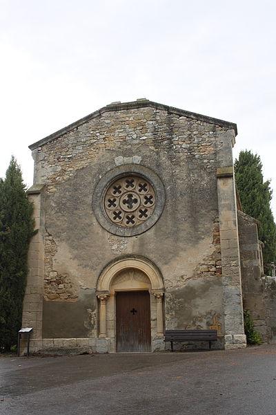 Photo du Monument Historique Chapelle romane du cimetière situé à Alleins