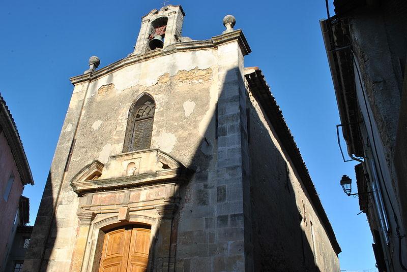 Photo du Monument Historique Chapelle des Pénitents Blancs, dite Notre-Dame-de-Pitié situé à Alleins