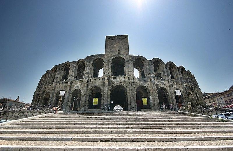 Photo du Monument Historique Amphithéatre ou Arènes situé à Arles