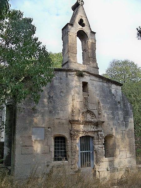 Photo du Monument Historique Chapelle de la Genouillade ou des Paysans situé à Arles