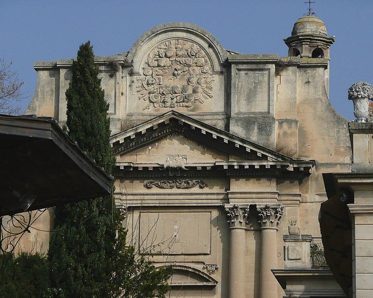 Photo du Monument Historique Hospice de la Charité situé à Arles