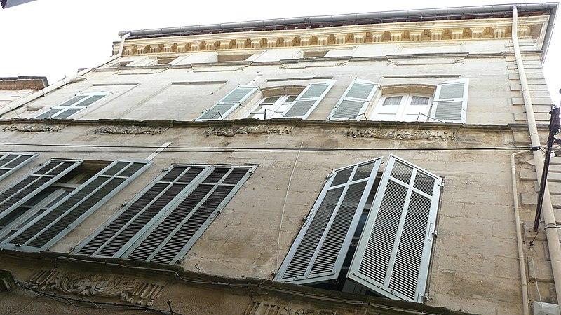 Photo du Monument Historique Hôtel de Barrême situé à Arles