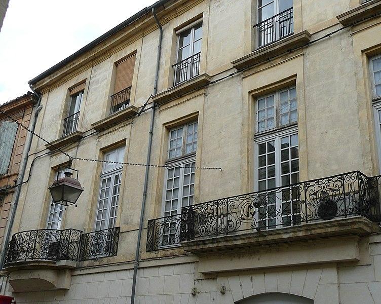 Photo du Monument Historique Hôtel Icard-Duquesne ou hôtel d'Antonelle situé à Arles