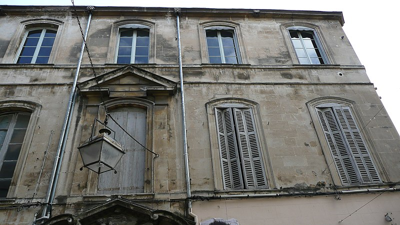 Photo du Monument Historique Hôtel de Lalauzière situé à Arles
