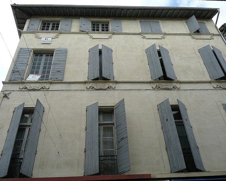 Photo du Monument Historique Hôtel Laurens de Beaujeu situé à Arles