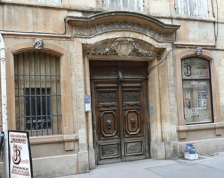 Photo du Monument Historique Hôtel Perrin de Jonquières situé à Arles